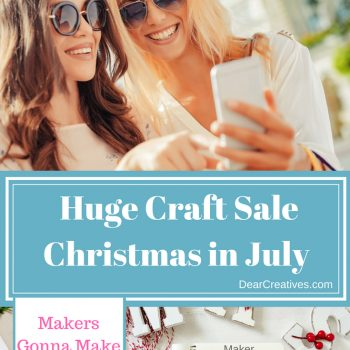 Cricut's Huge Craft Sale! Perfect for Stocking Up or Getting a Cutting Machine!