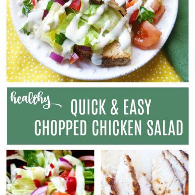 Easy Chicken Salad Recipe for a Healthy Dinner Under 30 Minutes