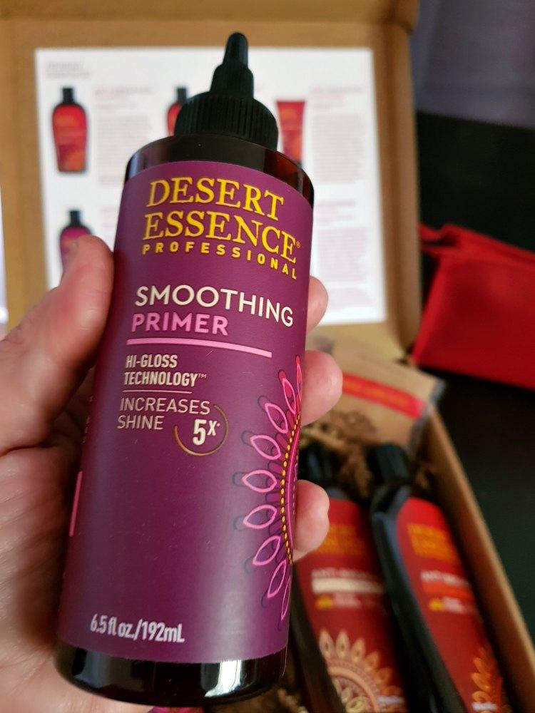 Desert Essence Professional Smoothing Primer for hair care DearCreatives.com