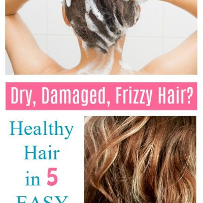 Healthy Hair -Dry Damaged Frizzy hair How to get healthy hair. DearCreatives.com #healthyhair #hair #haircare #organic #haircareproducts #shampoo #conditioner #treatyourhair