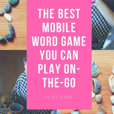 The Best Mobile Word Game You Can Play On-The-Go DearCreatives.com #mobilewordgames #brainteaser #mobilegame #funwordgames #the bestwordgame #wordgame #wordswithfriends2 #sponsored