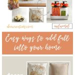 Are you looking for ways to decorate for fall Try these decorating ideas and decor styling tips. DearCreatives.com #decor #home #fall #tip #homedecorating