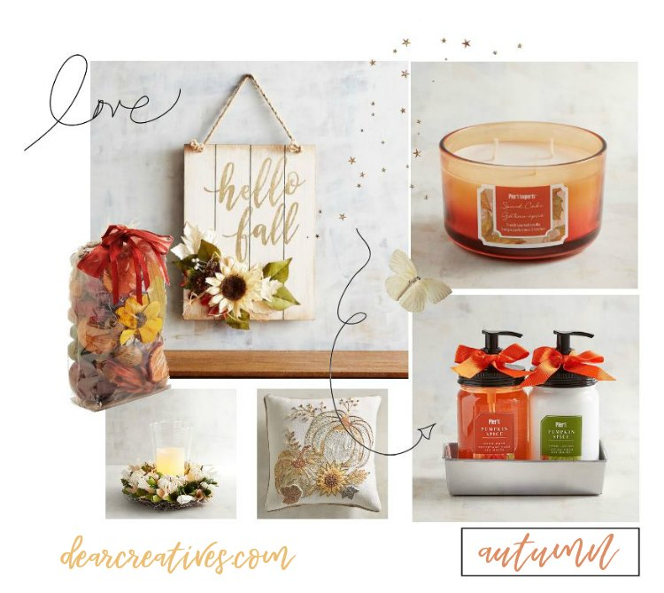 hello fall! home decorating ideas we know you'll love. You have to see these ideas at DearCreatives.com