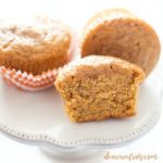 pumpkin muffins The best pumpkin muffins recipe. Moist, and tasty. DearCreatives.com #pumpkinmuffins #recipe
