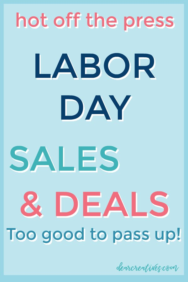 The best Labor Day Sales and Deals. I know I'm using this to find the best prices to shop Labor day weekend. Plus a few extended sales. Discount codes, and where to grab them. #deals #laborday #sales #shopping