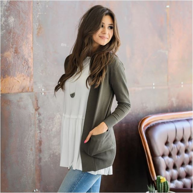 Cute Cardigans are perfect for fall and even better when they are on sale!