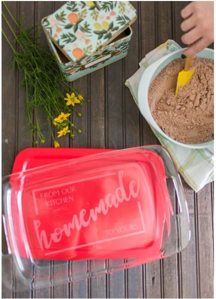 this personalized engraved glass baking dish comes in several styles and is perfect for gifting or keeping for yourself.