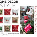 Christmas Decorating Ideas- See what's trending to create the look you will love for the holidays. Whether it's cozy, warm, bright or white. Festive is what you will end up with after seeing these ideas! #christmas #homedecor #homedecorideas #holidays #holidaydecor