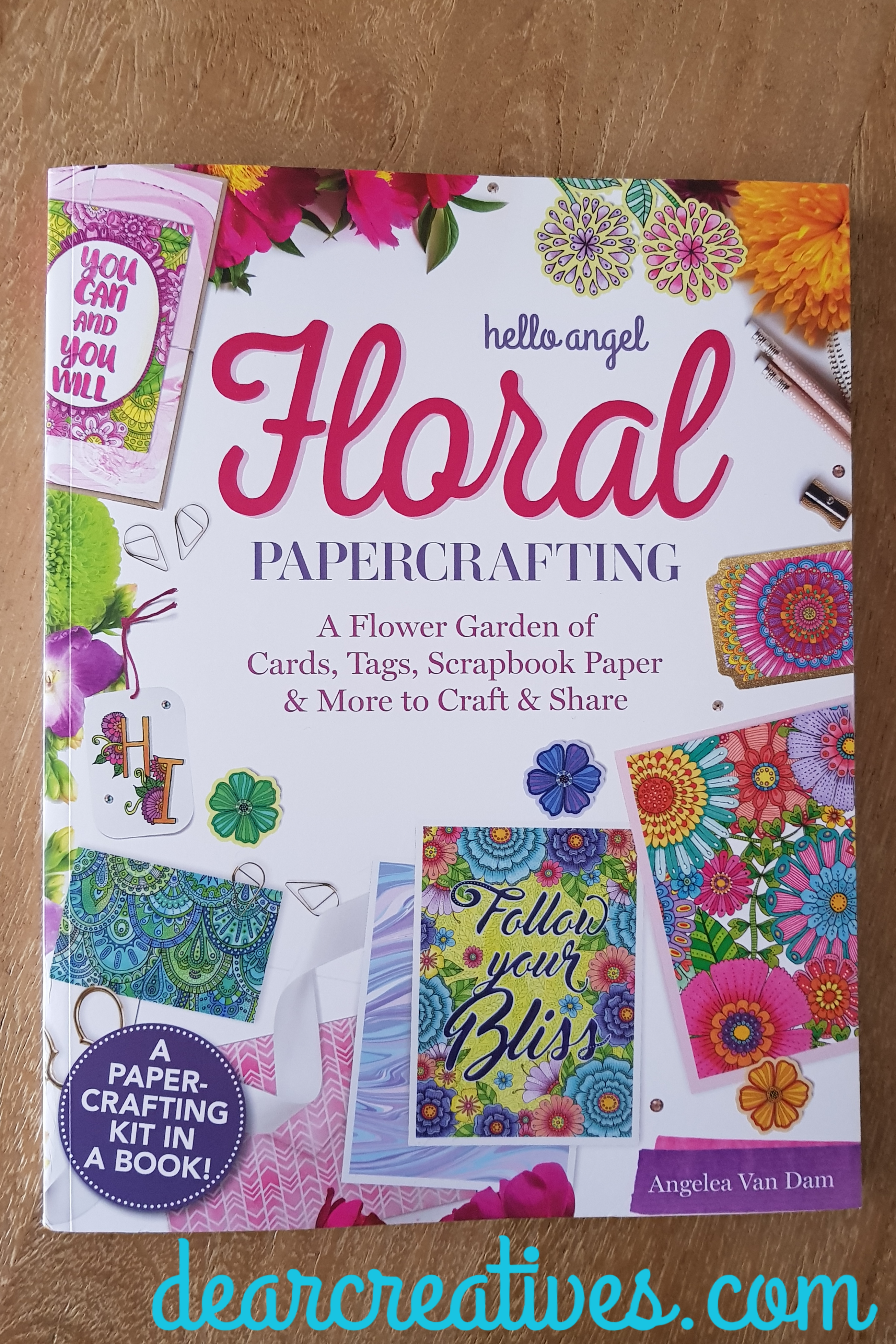Hello Angel Floral PaperCrafting – Craftbook Review