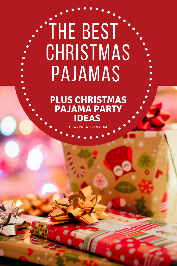 Have a Christmas Pajama Party! Christmas Pajamas on Amazon
