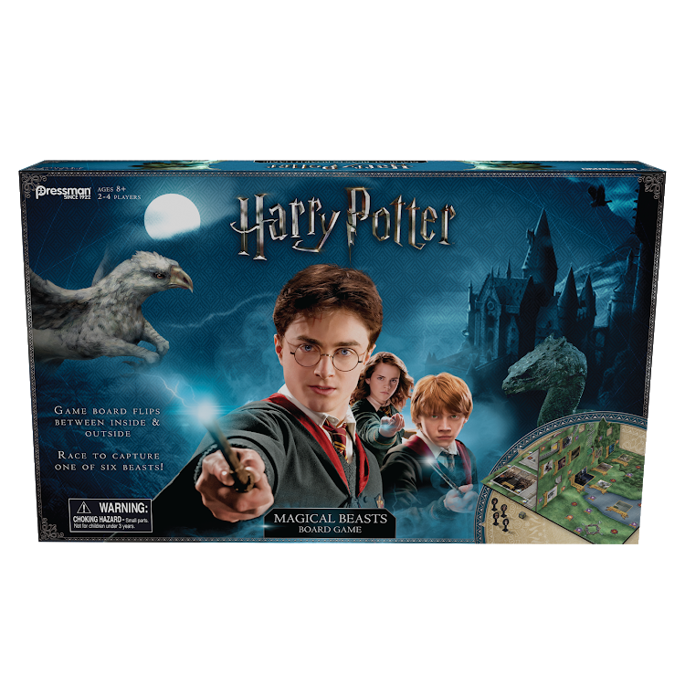 Harry Potter Magical Beasts Board Game for ages 8 and up