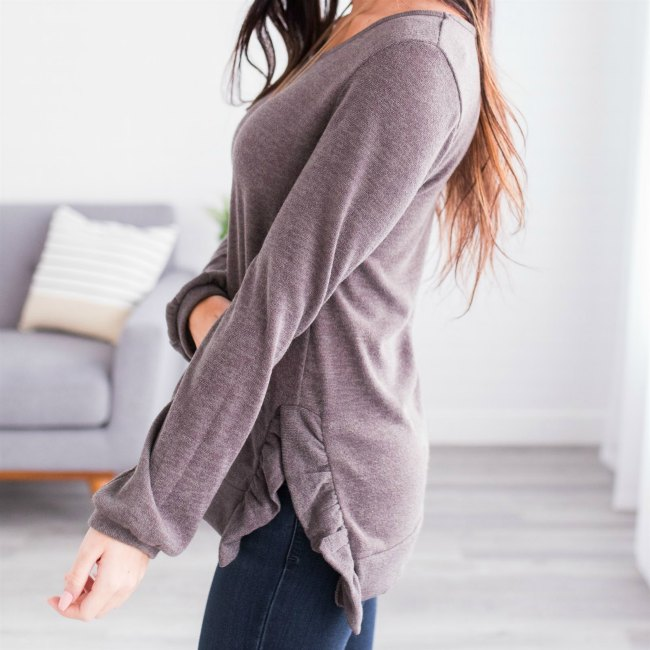 Women's Tunic Sweater in heather find more women's fashion ideas at DearCreatives.com