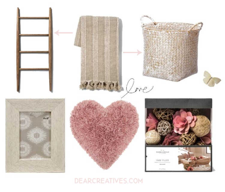 Refresh your living room with these easy ideas. See all the home decor ideas at DearCreatives.com