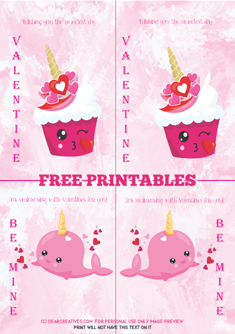 Free Cute Valentine's Day Printables With Epson ET-2750
