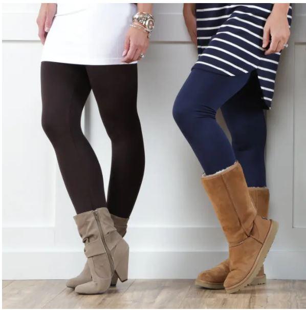 lined leggings