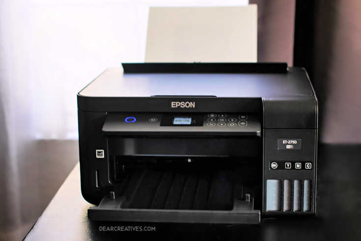 Epson Printer ET-2750 Eco Tank Printer © 2019 Theresa Huse DearCreatives.com