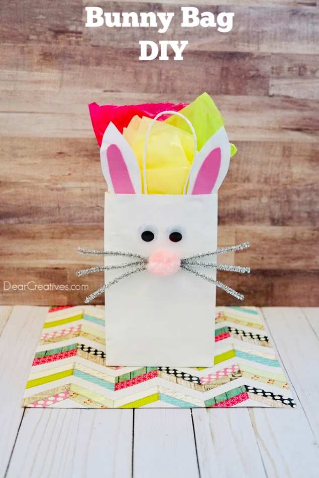 Bunny Bag DIY Use It For Easter, Birthdays Or Kids Craft