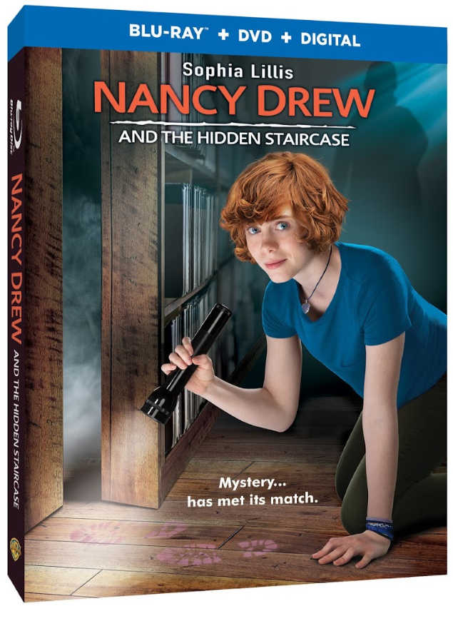 Nancy Drew And The Hidden Staircase Now On Blu-Ray DVD Digital