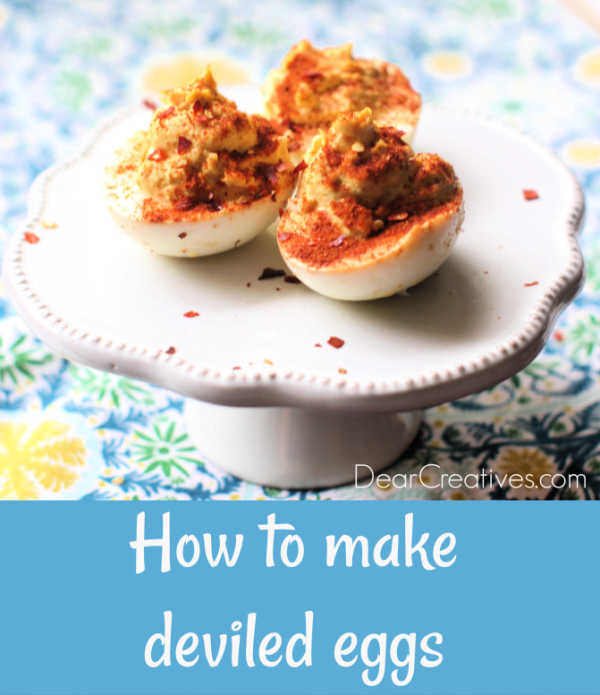 Spicy deviled eggs - how to make deviled eggs spice it up a little or a lot. See all the variations with the best deviled egg recipe © 2019 DearCreatives.com