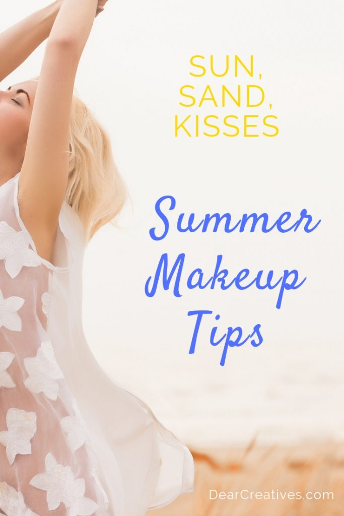 Young lady enjoying the summer weather - Summer Makeup Tips - How to make your makeup last all day. Great beauty tips that are affordable, easy to do and do work! DearCreatives.com #beautytips #summer #makeup #makeuptips #dearcreatives