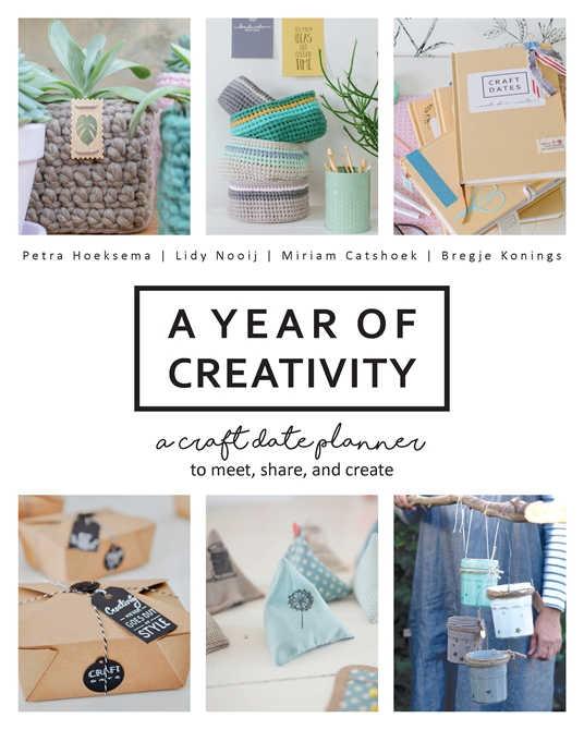 A Year Of Creativity - Craft Book - DearCreatives.com