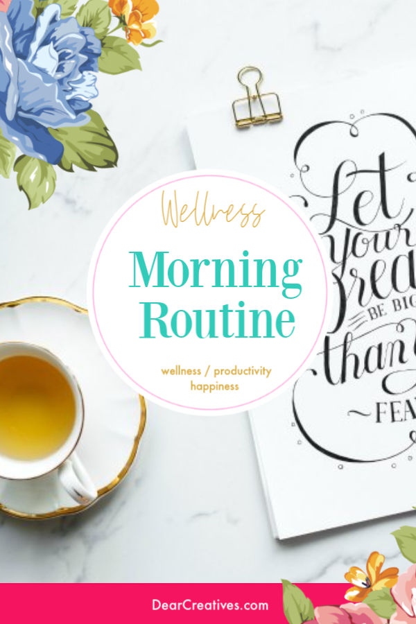 Morning Routines - Simple changes anyone can make to kick up their morning routines. DearCreatives.com