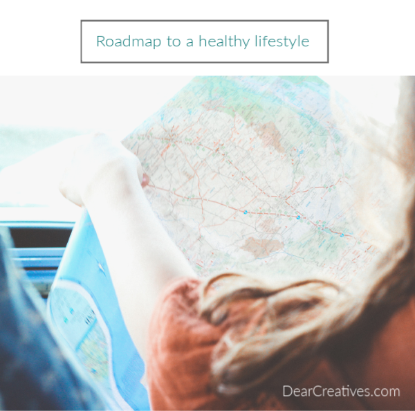 Road map to a healthy lifestyle - 7 Easy Ways to Improve Your Gut Health - Tame the fire in your belly! Must have healthy lifestyle tips! DearCreatives.com #healthylifestyle #guthealth #tips #health