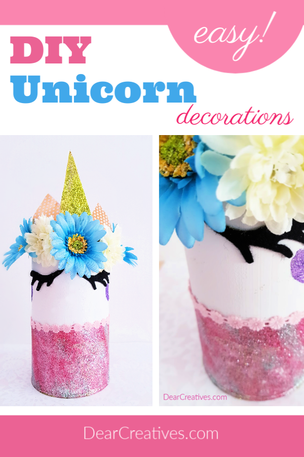 DIY Unicorn Decoration for a Bedroom