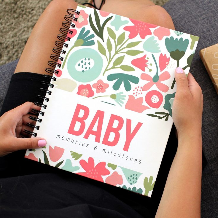 Modern Baby Book For Baby's First Year