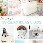 Are you looking for baby room ideas? Find so many ideas for DIY Nursery Decor Ideas and baby rooms. Nursery room ideas to make the perfect baby nursery! DearCreatives.com #babyrooms #babyroomideas #nurseryideas #diy #baby #nursery