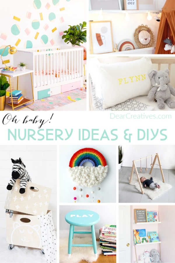 Nursery Room Ideas Baby Diys Dear