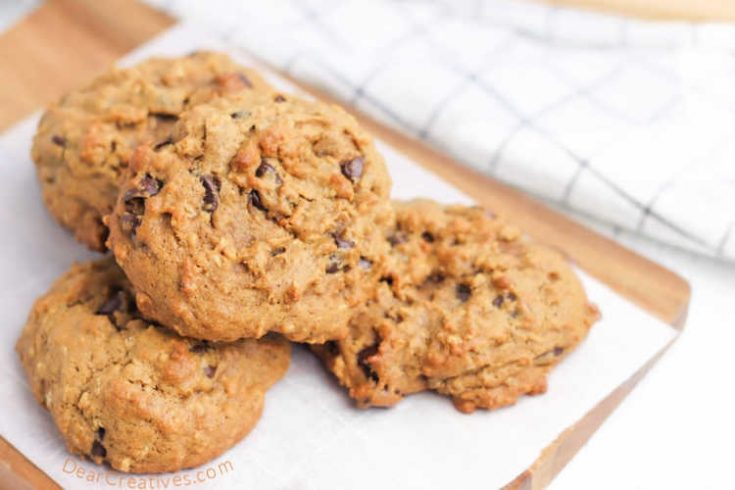 Pumpkin Cookies - Easy to make, bake or adapt. See how to make them and the variations you can try. They are so good! Perfect for fall baking. DearCreatives.com