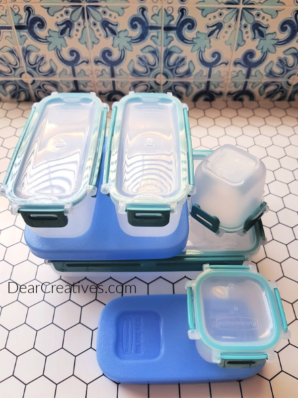 on the go lunch ideas - the best lunch containers for taking lunch to school or work. DearCreatives.com