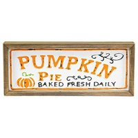 Pumpkin Pie Bakery Sign
