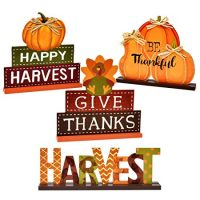 4 Thanksgiving Centerpiece Table Decor