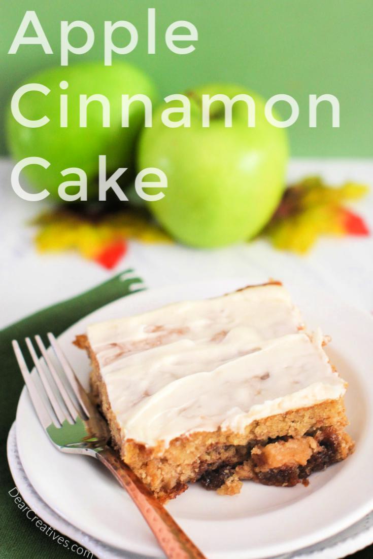 Apple Cinnamon Cake – Delicious Bite After Bite!