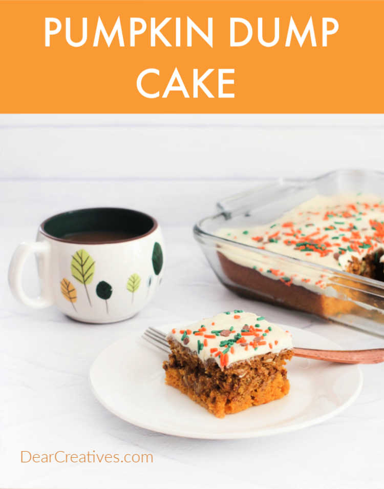 Pumpkin Cake – Easy 1 Bowl, Dump, Swirl, Bake, Enjoy!