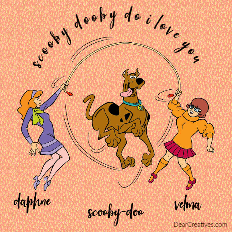 Velma, Daphne and Scooby-Doo - DearCreatives.com