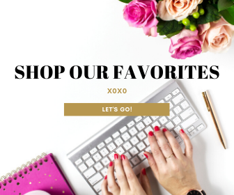 "#ad Shop our Favorites - ""As an Amazon Associate I earn from qualifying purchases."""