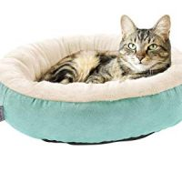 Love's cabin Round Donut Cat Cushion Bed