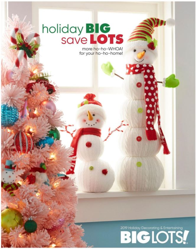 Big Lot's Holiday Gift Guide 2019 for decorating and entertaining...