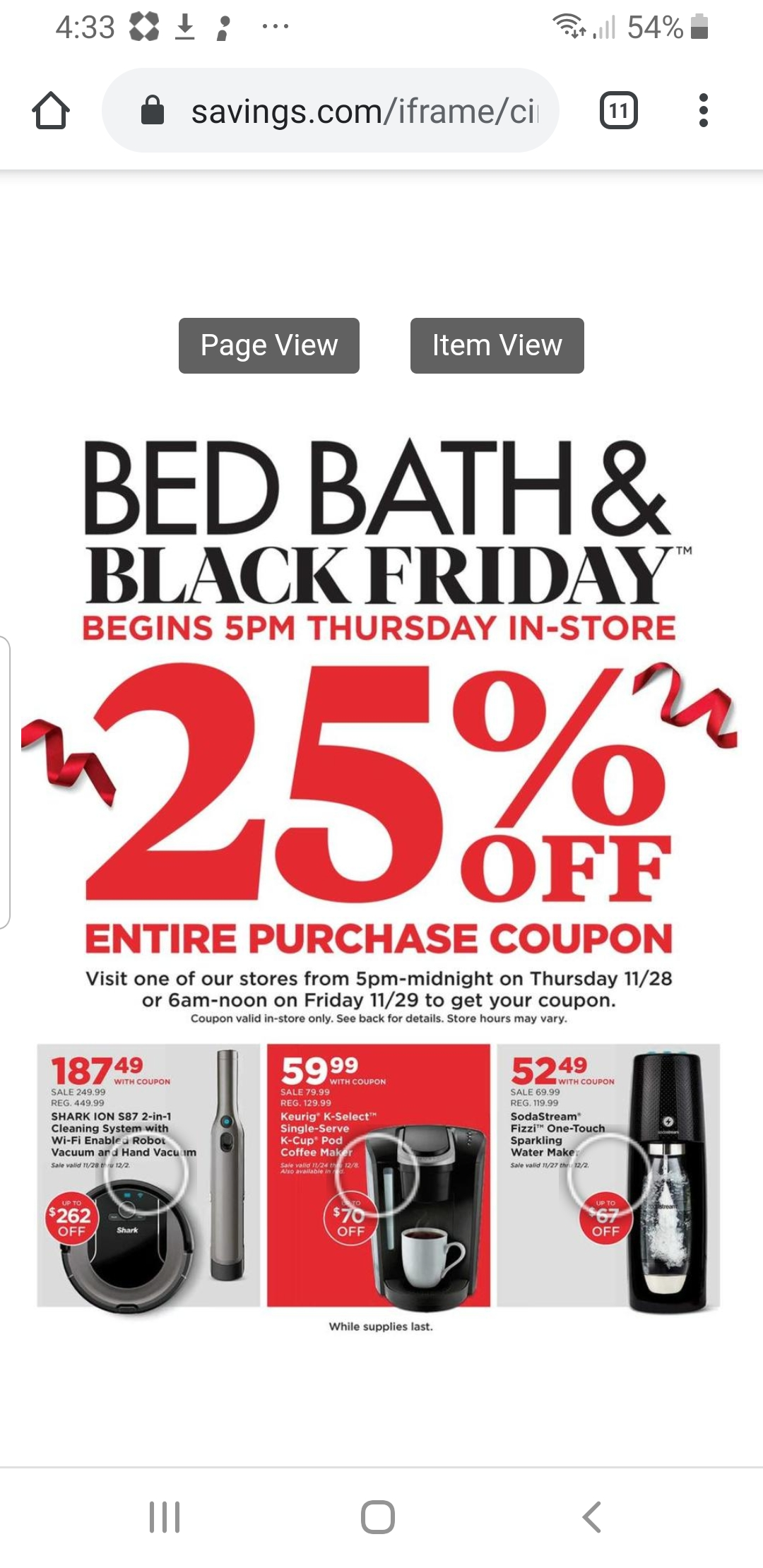 Bed Bath & Beyond Black Friday Deals!
