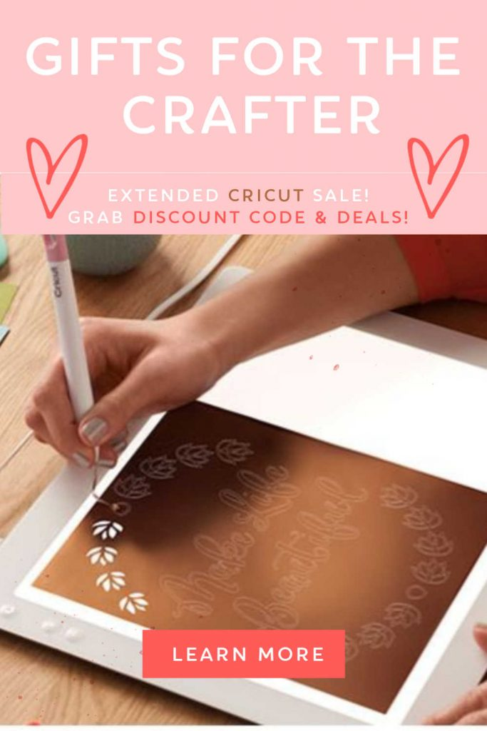 Cricut Deals - Extended Cricut Sale - See current deals grab discount codes... The Cricut is a great tool for crafters. Cricut maker, EasyPress, BrightPad and supplies all are easy to set up and use! Find out more DearCreatives
