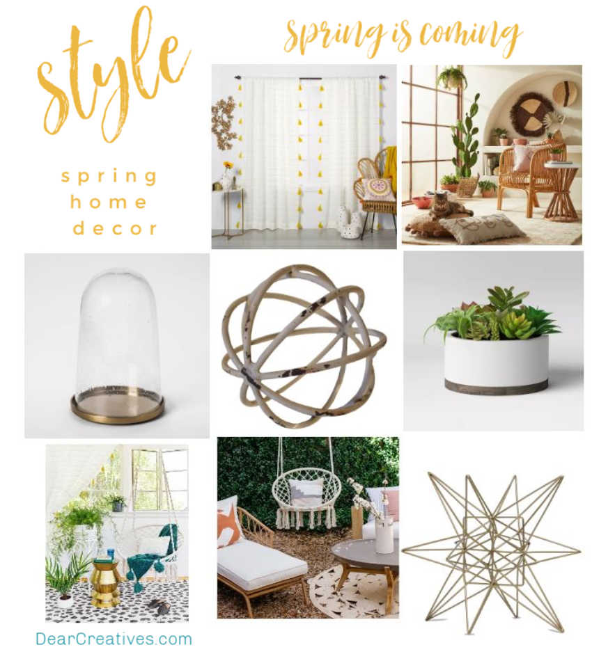 What's Trending At Target For Spring + Easter Decorations