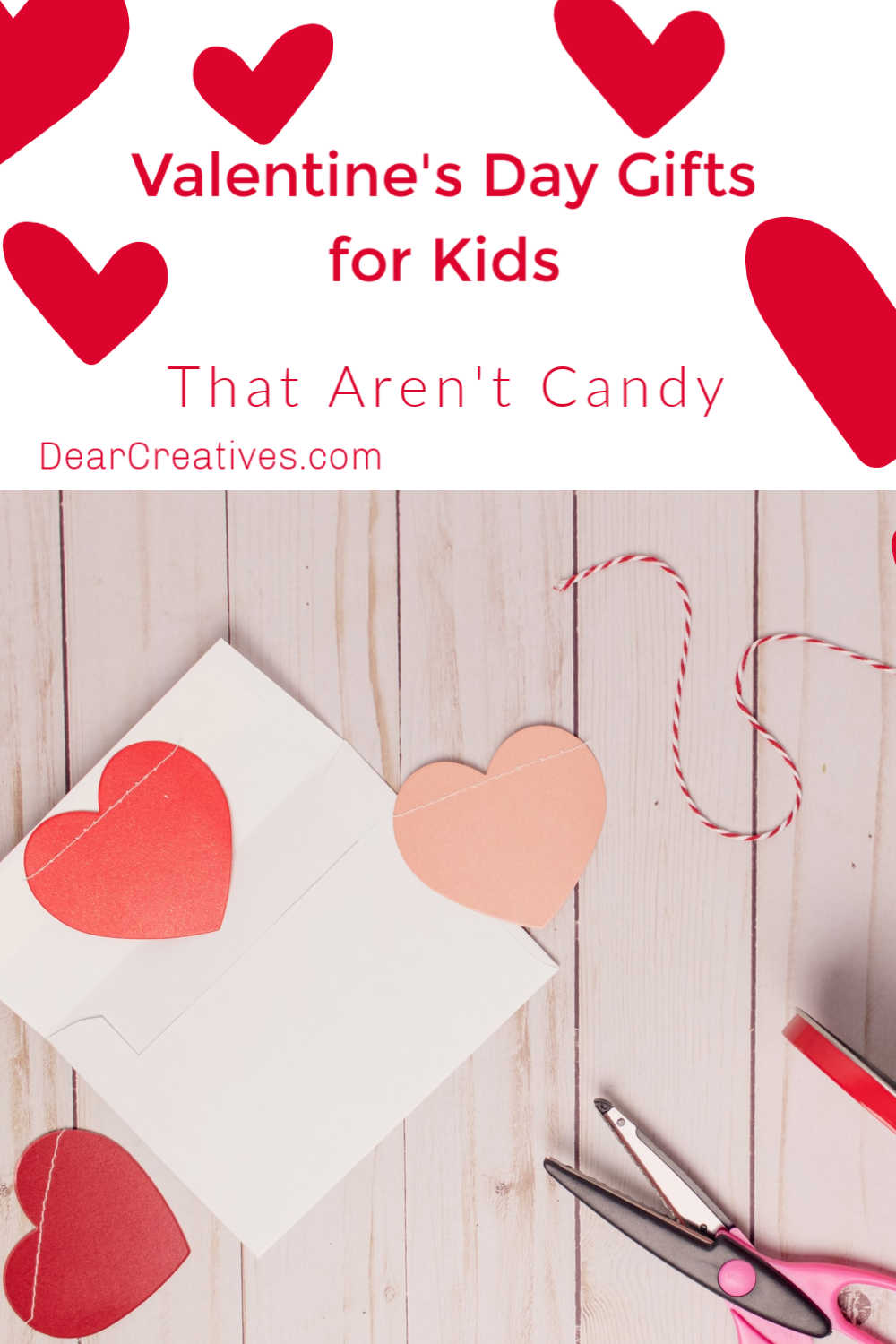 Valentine's Day Gifts For Kids That Aren't Candy!