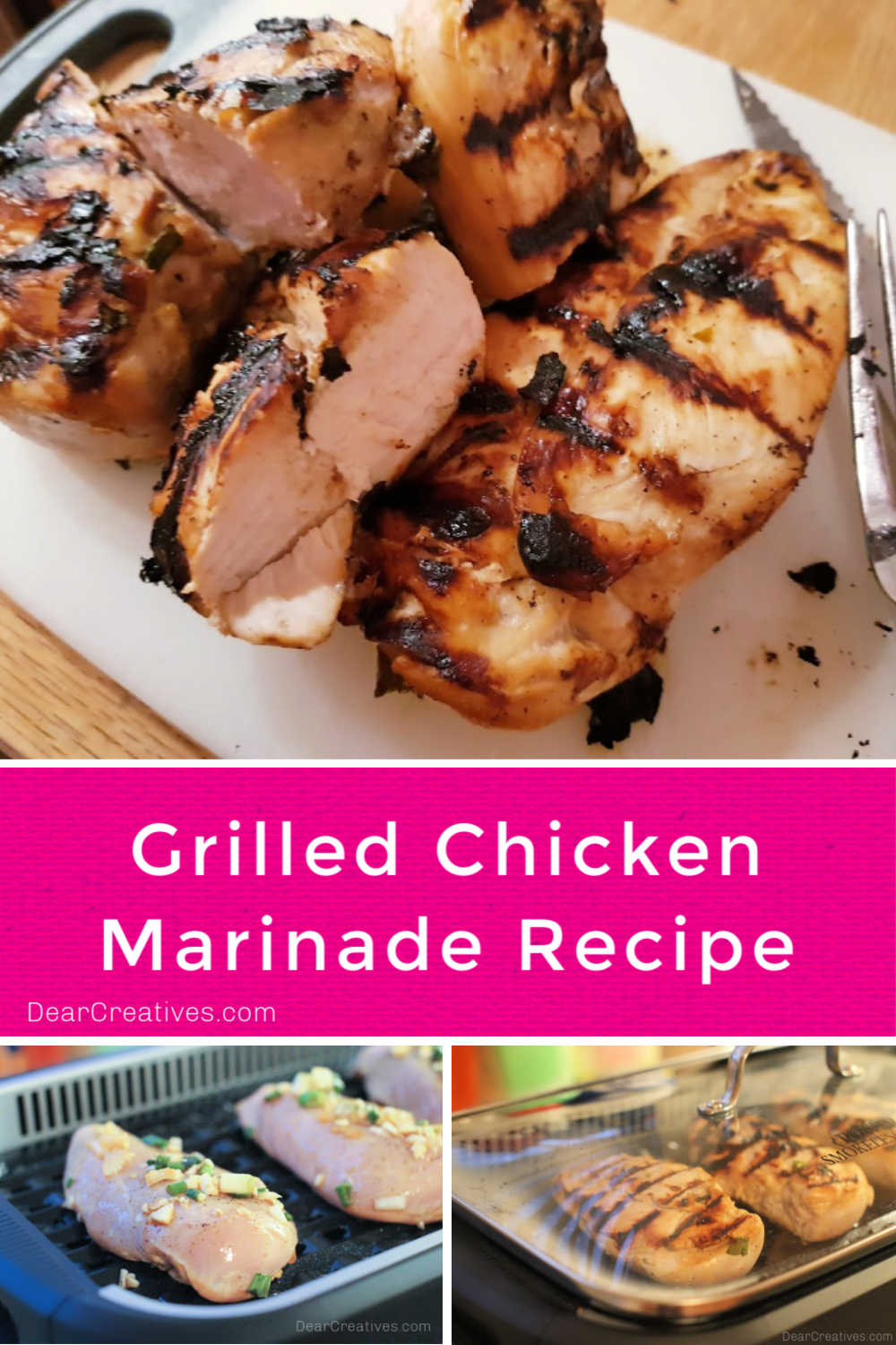 Grilled Chicken Marinade Recipe (Grill, Stove or Oven)