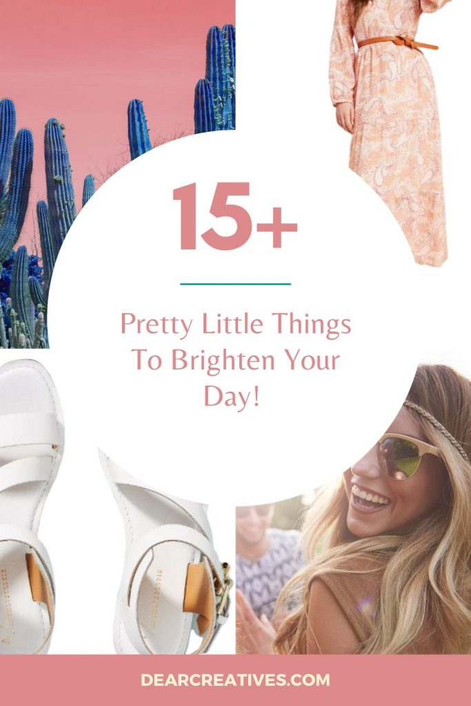 A Wish List of Pretty Little Things To Brighten Your Day! Friday Finds -DearCreatives.com
