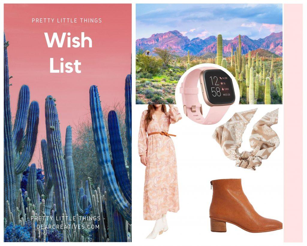 Fashion mood board - Wish List - Pretty Little things - DearCreatives.com