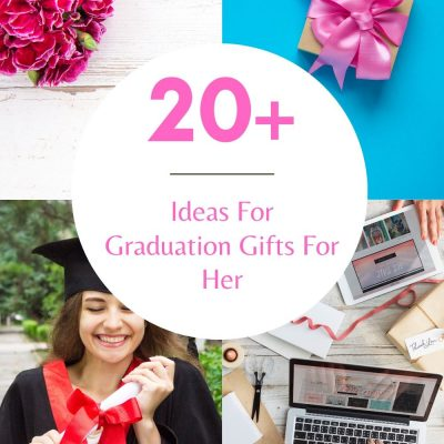 Ideas For Graduation Gifts For Her! A gift list of graduation gifts for her. Cute, useful, affordable gifts to give your graduate. DearCreatives.com