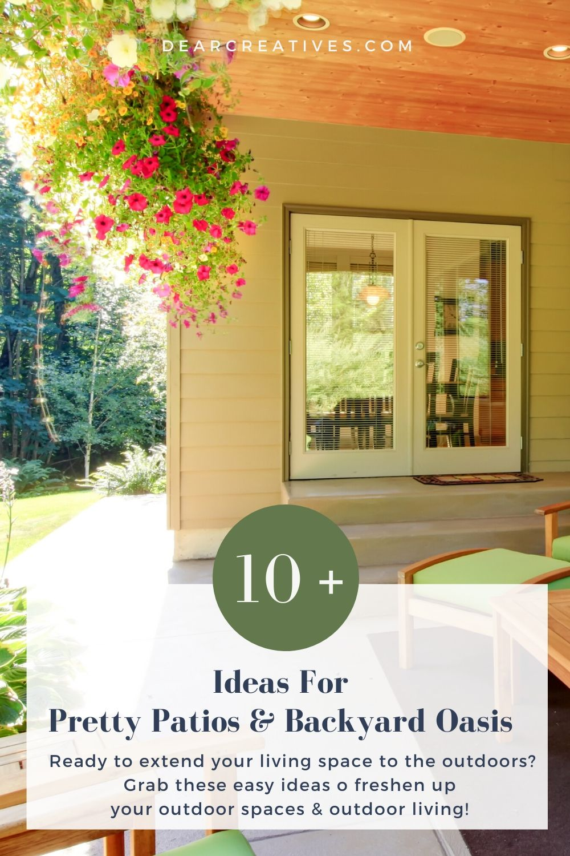 10 Backyard Ideas To Freshen Up Backyards And Patios